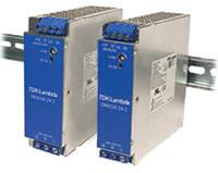 Image of TDK-Lambda's DRB Series 120 W and 240 W DIN Rail Power Supplies