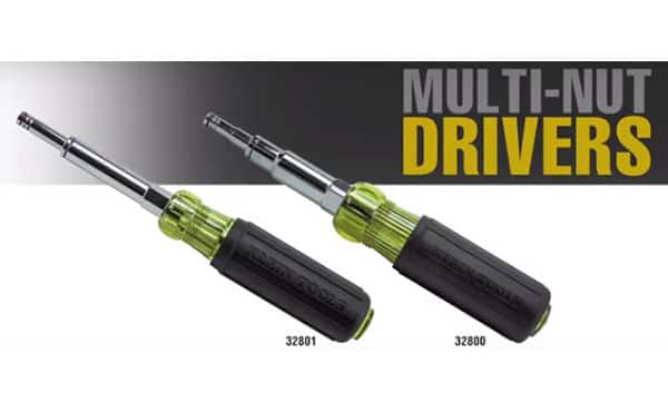 Image of Klein Tools' Multi-Nut Drivers